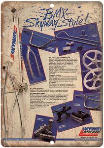 "Skyway BMX vintage advertisment 10/"" x 7/' reproduction metal sign B65"