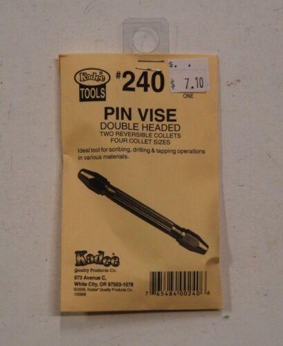 Pin Vise Double Headed HO Scale Kadee #240