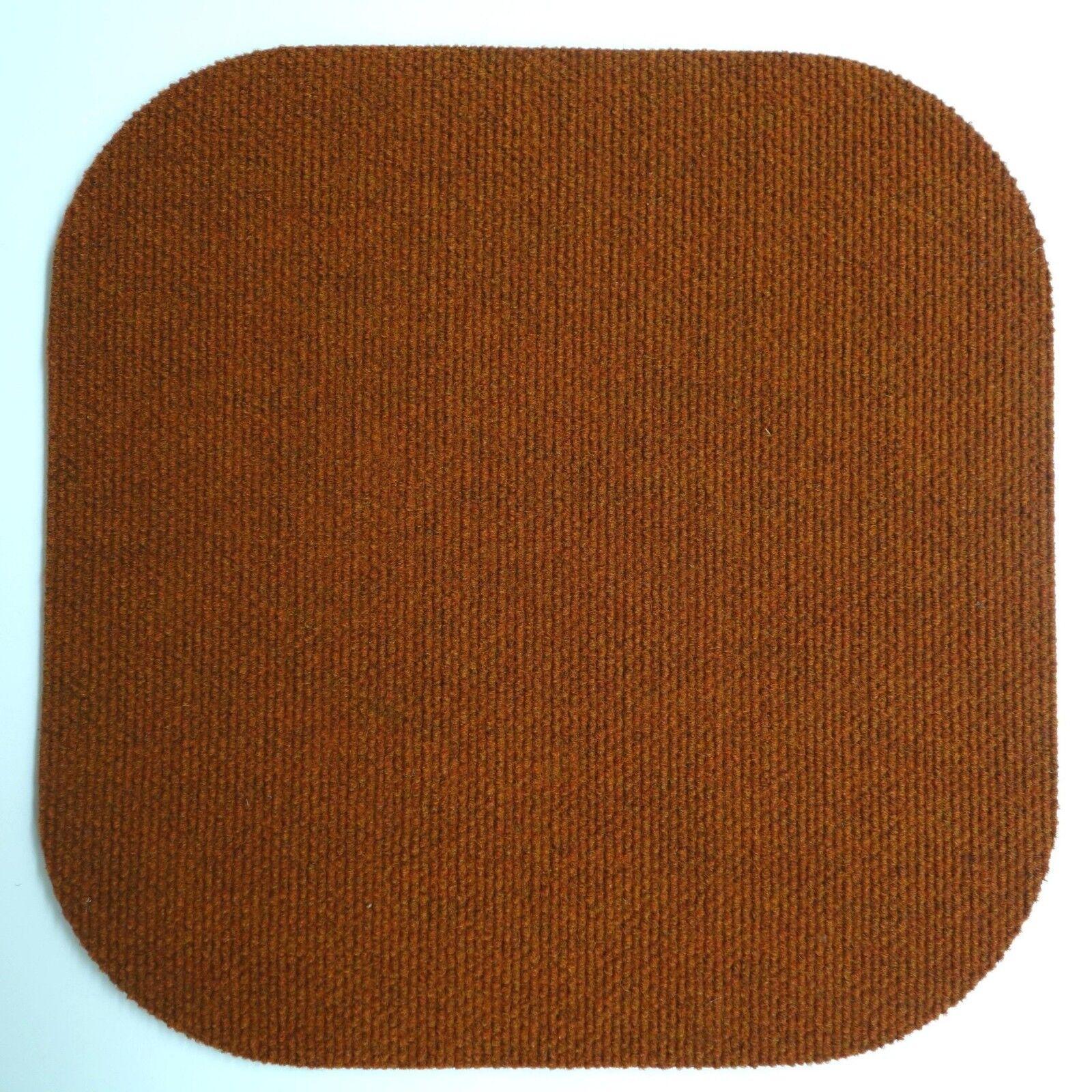 Teppichpolster 39x39 cm NEU Stuhlkissen aus Teppich Stuhlauflage Sitzkissen