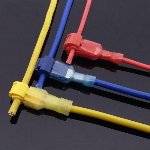 Terminal 240pc Connecteurs Quick Splice Scotch Lock T Tap fil joint sertir câble