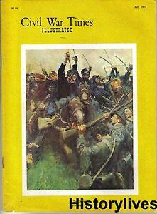 Civil-War-Times-Magazine-July-74-McCook-039-s-Raid-Andersonville-War-Crimes-Trial