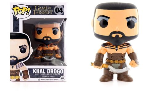 Funko Pop Game of Thrones™ Khal Drogo Vinyl Figure Item #3013