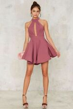 Nasty Gal  Shanghai Surprise Cut-out Dress - Pink small new with tags Ginger fiz