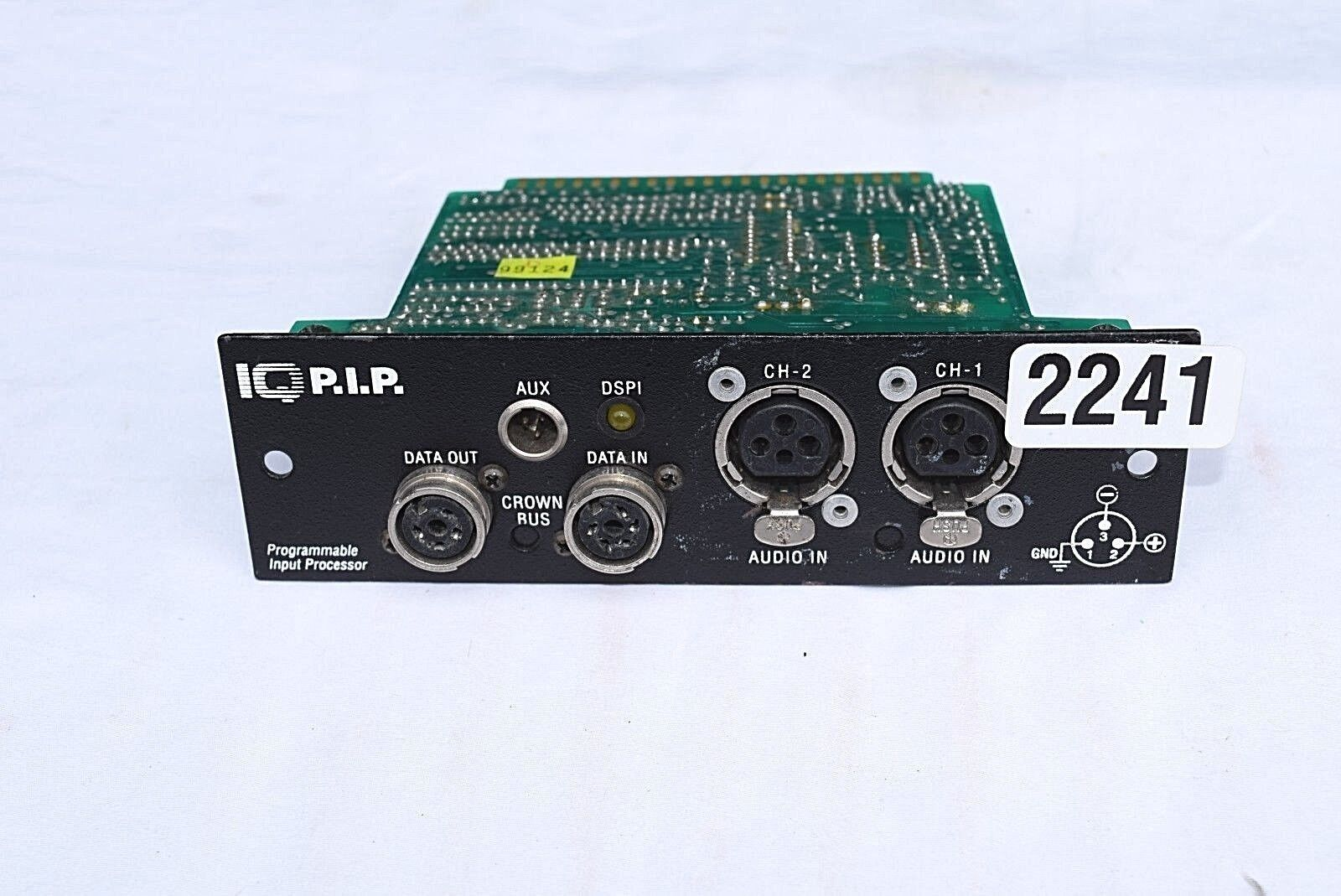 CROWN 1Q PIP PROGRAMMABLE INPUT PROCESSOR  (ONE)