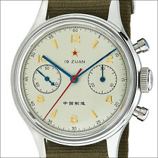 Seagull 1963 Hand Wind Mechanical Chronograph with 38mm SS Case #6345A-2901