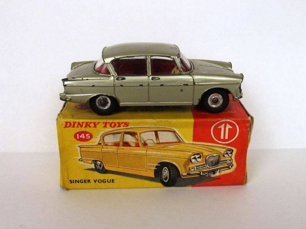 Boxed Dinky Toys No.145 Singer Vogue 1962-1967