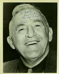 Frankie-Frisch-Jsa-Signed-Certified-8x10-Photo-Authentic-Autograph