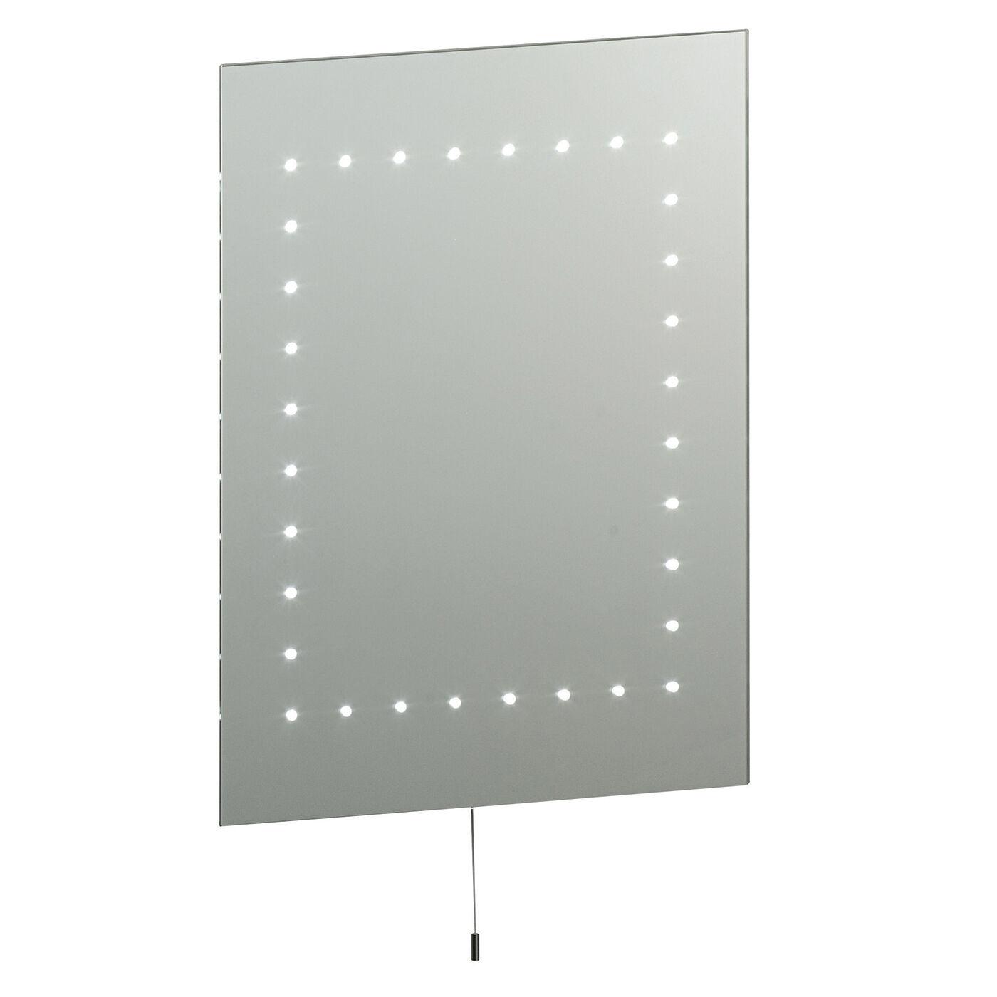 Liberée Mareh Led Miroir Salle de Bain IP44 2.5w Cordon Traction H  500mm