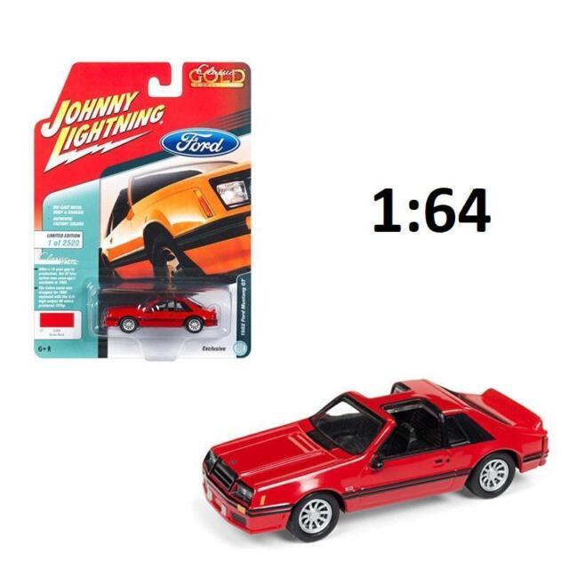 Johnny Lightning Jlsp040 1982 Ford Mustang Gt 5 0 Brite Red