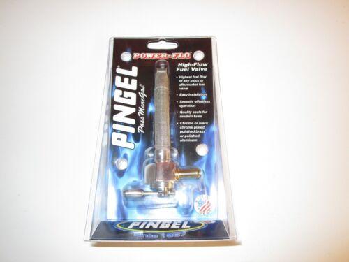 Pingel Hi Flow Fuel Tap 3//8th NPT Thread. Single Outlet c//w Reserve