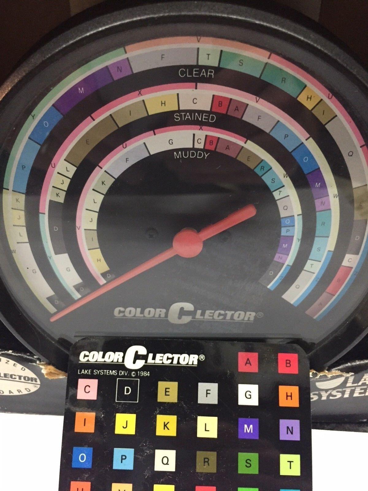 Colore-C-Lector Vintage Colore Lure Selector  Coloreclector Selettore colore esche