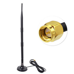 9dB Magnetic 3G UMTS GPRS GSM Antenna SMA Male Connector for Broadband Router