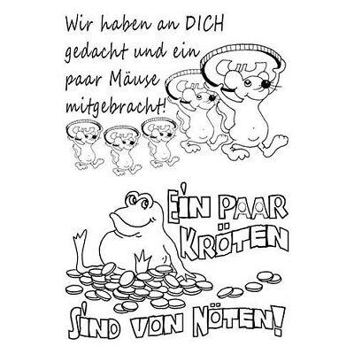 Spruch Geldgeschenk Mäuse