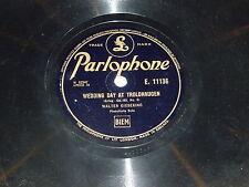 WALTER GIESEKING - Wedding Day At Troldhaugen - Parlophone 78 Record