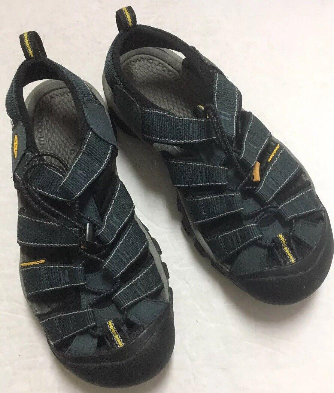 Keen Men's Newport H2 Navy Medium Grey Grey Grey Sandals 1001938 Size 8.5 e2d199