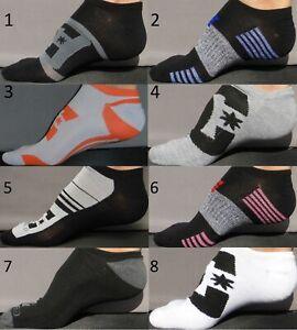 DC-SHOES-CO-DCSC-Men-039-s-Socks-Sz-10-13-Shoe-6-12-5-Low-Cut-Skateboard-USA-Large-L