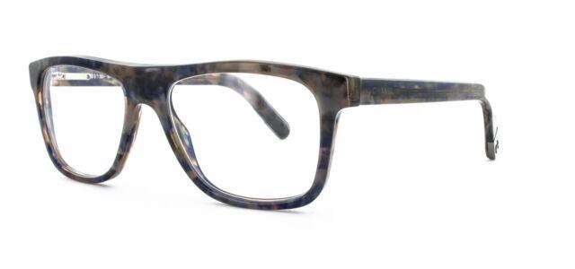 CHANEL Eyeglasses 3240 1392 Blue Two-tone Frames Authentic 52mm W ...