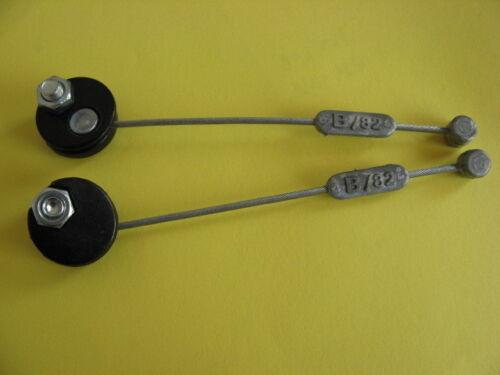 2 Stück VERBINDUNGSKABEL B//82 Querzug für Cantilever-Bremsen NEU