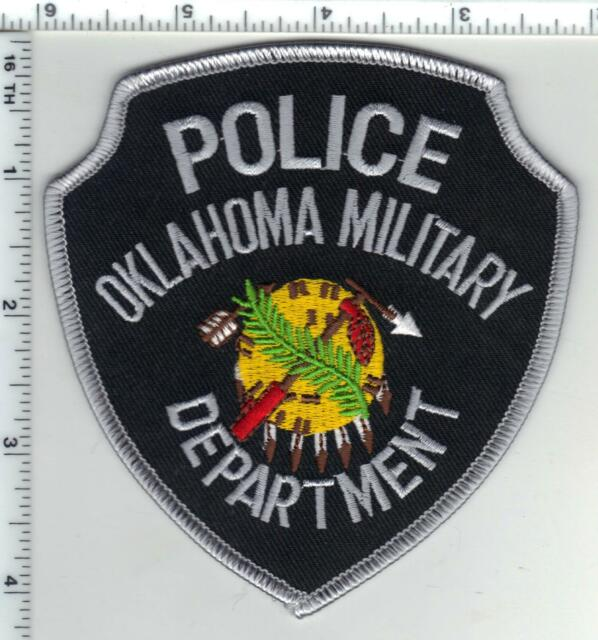 new from the 1980/'s Shoulder Patch Oklahoma Tulsa Traffic Police