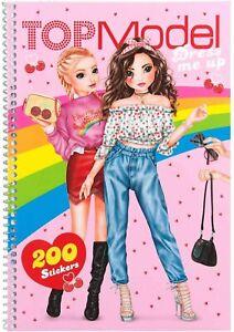 depesche - top model dress me up cherry bomb sticker book 11120 - brand new 4010070460419 | ebay