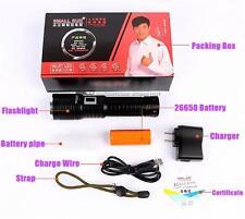 SMALL SUN 500meter CREE XML T6 LED USB FLASHLIGHT 26650 TORCH LAMP+ Packing T85