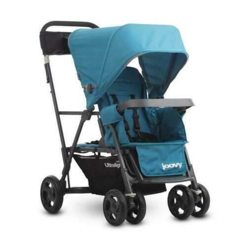 Joovy 8110 Caboose Ultralight Graphite Stroller - Turq