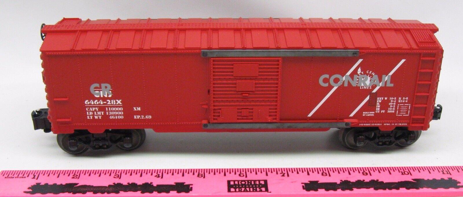 Lionel  6464-28x Conrail   CNJ over stamp Boxcar