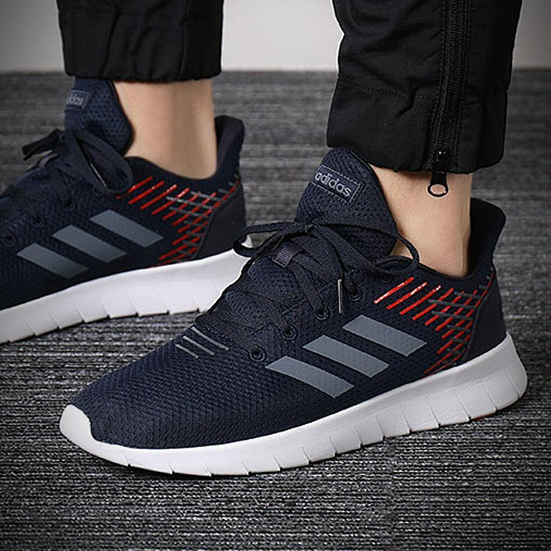 Adidas Hombres Zapatillas Entrenadores Entrenamiento Adiestramiento F36334 asweerun Essentials
