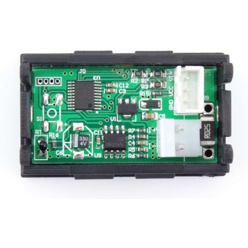10 A 100 V OLED Testeur Tension Courant heure température capacité voltmètre ampèremètre