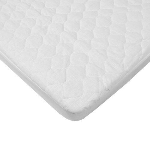 waterproof quilted cotton bassinet size fitted mattress