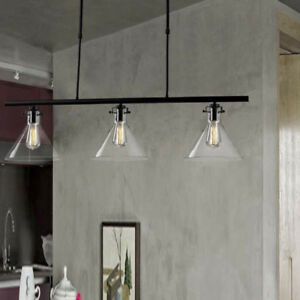 Image Is Loading Modern Glass Kitchen Island Ceiling Light Pendant Lamp