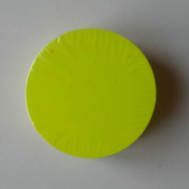 20 Kreise 20 cm Ø neon Preisschilder Schild Schaufenster Display deko Stanzteil