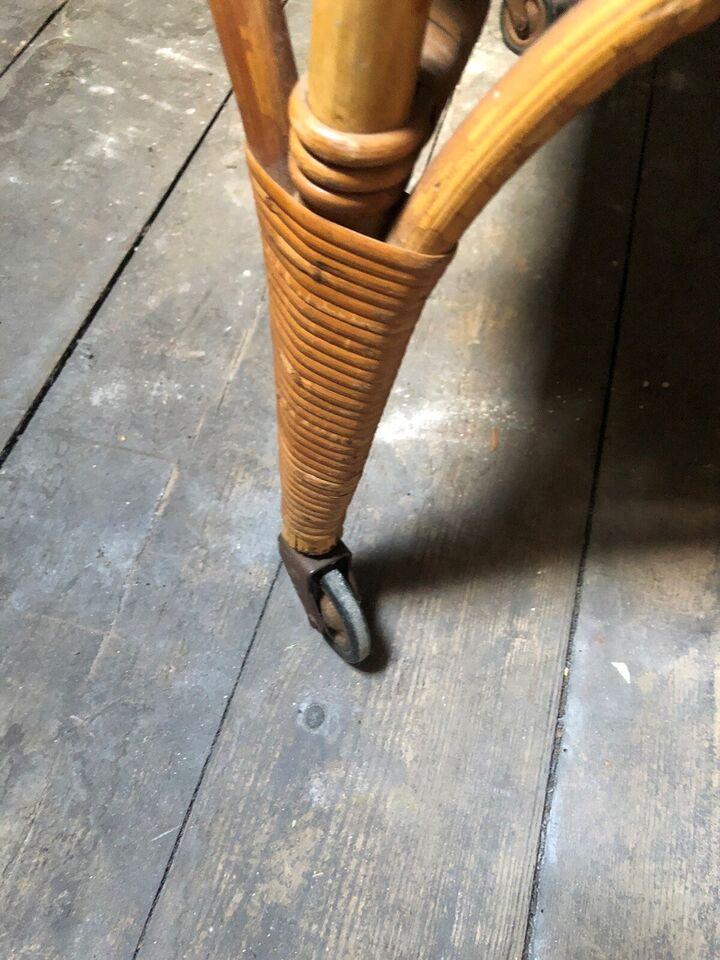 Krybbe, Flet med mønster , b: 54 cm l: 100