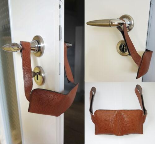 Leder-Türkissen-Tür-Fenster+Türstopper-Türpuffer-Kein lautes zuschlagen der Tür
