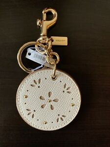 Details About Coach Bag Charm Keychain