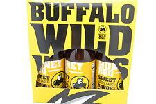 Buffalo Wild Wings Sauce -HONEY BBQ  3 Bottles 12 0Z EACH