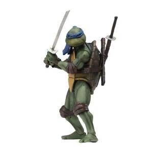 NECA-Teenage-Mutant-Ninja-Turtles-Leonardo-1990-Movie-7-034-Action-Figur