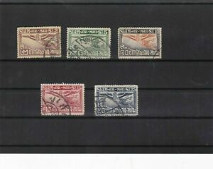 thailand 1925 air stamps ref 11554