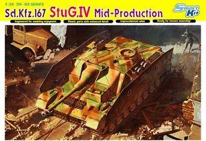 Dragon 6582 Maquette Sd.kfz.167 Stug.iv Milieu Production