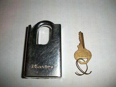 Padlock Armoured Padlock Security Lock U-Lock including 2 Keys