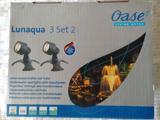 Oase LunAqua 2 Unterwasserbeleuchtung Teichbeleuchtung