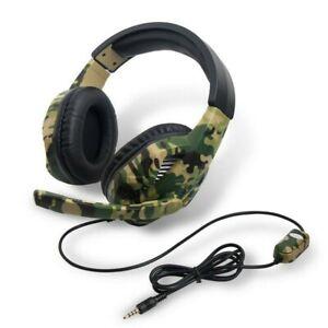 Gaming Headset 3.5mm Kopfhörer-mit Mikrofon für Laptop PS4 Xbox One 360 Switch