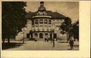 HEILBRONN-Neckar-1920-30-Heimatbeleg-Postkarten-Format-Partie-am-Stadttheater