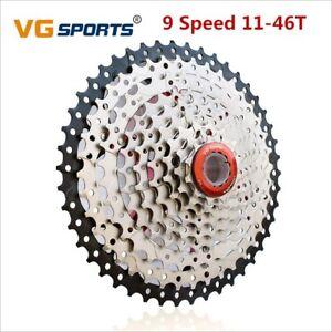 VG-9-Speed-Freewheel-11-46T-MTB-Mountain-Bike-Flywheel-Bicycle-Parts-Cassette