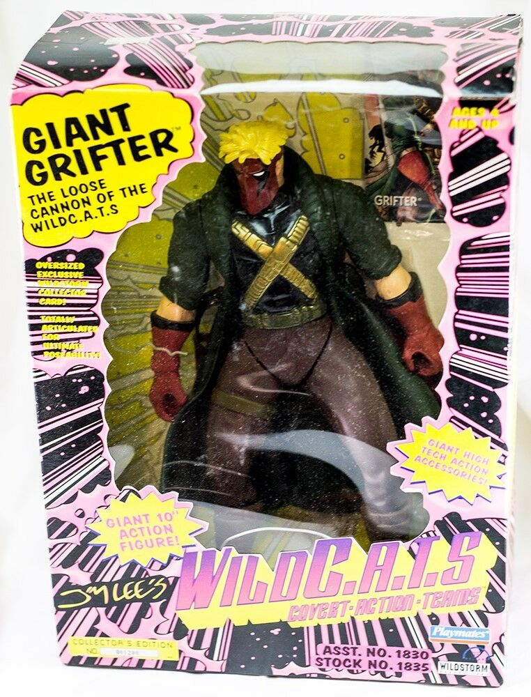Wild C.A.T.S. GRIFTER action figure GIANT 10 inch inch inch Wildcats in Original Box 759b98