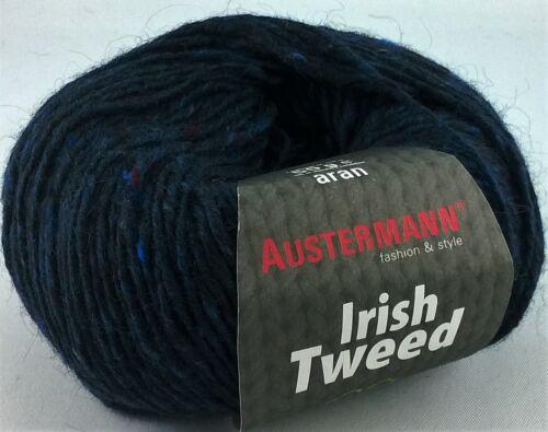 Winter 30/% Mohair Irish Tweed 100g=13,90€ Garn 70/% Schurwolle Austermann