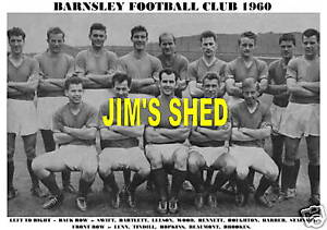 BARNSLEY-F-C-TEAM-PRINT-1960-SEASON-1960-61