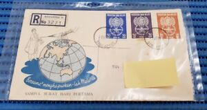 1962-Malaya-First-Day-Cover-The-World-United-Against-Malaria-Commemorative