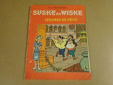 STRIP 1° DRUK TWEEKLEURENREEKS / SUSKE EN WISKE N° 64 - JEROMBA DE GRIEK