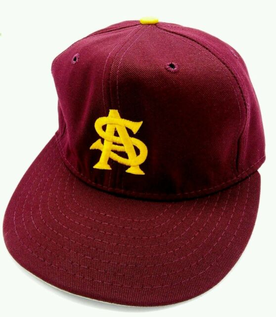 62275919 Vintage ARIZONA STATE UNIVERSITY SUN DEVILS fitted cap / hat Size: M ...